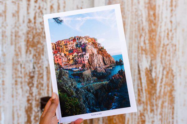 travel photo album
