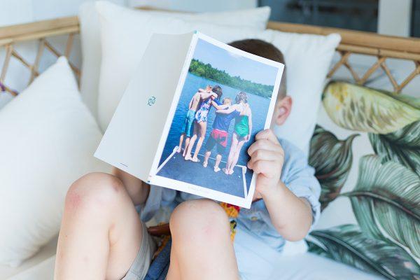 softcover portrait photo album
