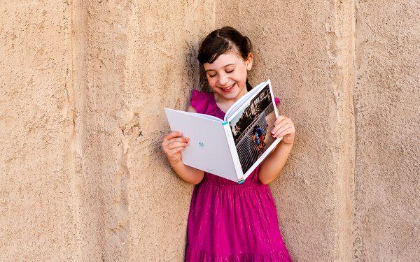 big square hardcover album for kids