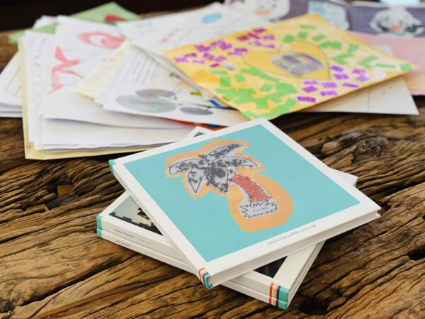 we turn kids artwork into art books