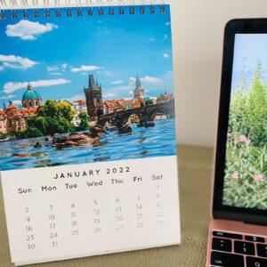 Desk Calendar 1